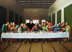 The last supper with Danny Dyer