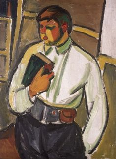 Portrait of a Man (Larionov, - Category:Paintings by Mikhail Larionov in the Museum Ludwig - Wikimedia Commons Henri Matisse, Avantgarde, Sculpture Painting, Post Impressionism, Art Database, Oil Painting Reproductions, Art Abstrait, Russian Art, French Art