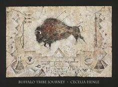 Buffalo Tribe Journey by Cecilia Henle