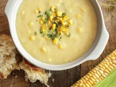 Healthy Corn Chowder made with cashews instead of real cream....amazing!