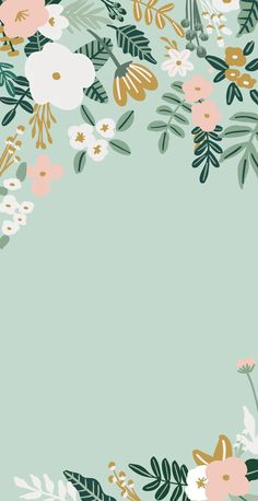 Free iphone floral wallpaper
