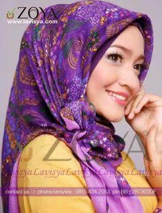 Lavisya Hijab: Zoya Kerudung Narsism - IDR 79000