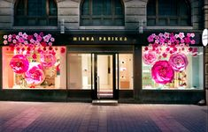 Minna Parikka´s Flagship Store in Helsinki is blooming. Come and visit us! Commercial Interior Design, Commercial Interiors, Vivid Colors, Colours, Kissing Booth, Helsinki, Lady Gaga, Perfect Match, Ikon