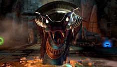 The Egyptian snake demon, Apep, as seen in Lara Croft & the Temple of Osiris.  Learn more about this mythical figure over at The Archaeology of Tomb Raider! - http://archaeologyoftombraider.com/2014/11/20/gods-demons-apep/