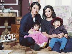 Dean Fujioka and family...cute family