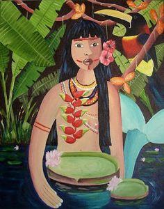 Pinturas de Cristiane Campos!   Artes & Humor de Mulher