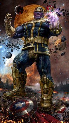 Thanos y el Teseracto Ñoño  www.ñoño.cl