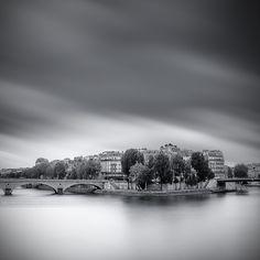 ~ile Saint Louis • Paris~ Photo by Jubu Photographie  --- taken September 3rd 2012 Ile Saint Louis, St Louis, I Love Paris, Second Best, France, Paris Photos, City Lights, New York Skyline, Clouds