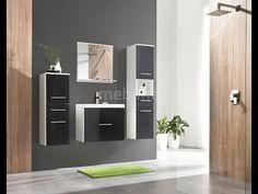 Meble łazienkowe LUPO - nowoczesna łazienka od MEBLINE #cheapbathroom #MEBLINE http://www.mebline.pl