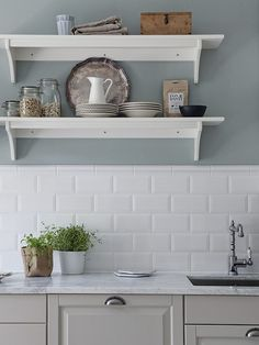måla köket