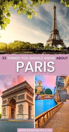 33 Things You Should Know About Paris. The City of Lights seduces with an extraordinary fusion of culinary escapades, historical monuments, and unusual activities. But do you know where this nickname comes from? Check out these 33 cool facts about Paris to know more about Paris. Paris Facts | Facts About Paris | Fun Facts About Paris | Paris Travel Tips | Paris Travel Guide | Paris History | Everything You need to know about Paris, France | Paris Travel Tips, Europe Travel Guide, France Travel, Travel Guides, Travel Plan, Travel Destinations, Cool Places To Visit, Places To Go, European Vacation