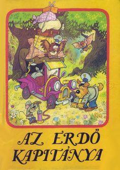 Az erdő kapitánya Lunch Box, Album, Comics, Children, Hungary, Animals, 3, Vintage, Cartoons