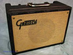 GRETSCH w tremolo. (same circuit is Supro Super) Vintage Rock, Retro Vintage, Bluegrass Music, Guitar Accessories, Gretsch, Vintage Guitars, Vintage Boutique, Cool Tones, Guitar Amp