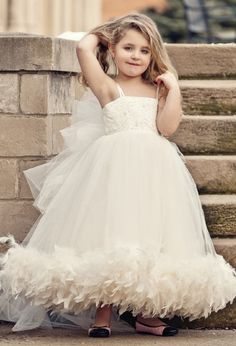 Child sizes available in a wide variety of colors. Elegant Ivory Strapless Cute Flower Girls Dresses For Weddings Feather Floor Length First Communion Dresses For Girls Cute Flower Girl Dresses, Lace Flower Girls, Girls Dresses, Cheap Dresses, First Communion Dresses, Feather Dress, Pageant Dresses, Beaded Dresses, Dress Prom