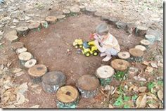 Build a dirt pit for fun play! Just add water for some mud.