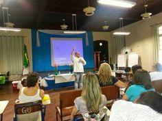 palestrando na FATEC/ ETEC Santos