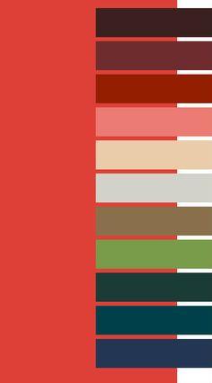 #Farbbberatung #Stilberatung #Farbenreich mit www.farben-reich.com Cherry Tomato Red for Dark Autumn