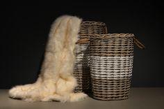 Sodre. Dostępne 3 rozmiary kosza. http://houseandmore.pl/pl/katalog/housemore/kersten/kosze-carrinho/kosz-wiklinowy-sodre-42x35x60cm.html