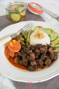 Daging smoor (Indisch stoofvlees) - Keuken♥Liefde