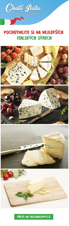 Vyzkoušejte kvalitní a chutné italské sýry!