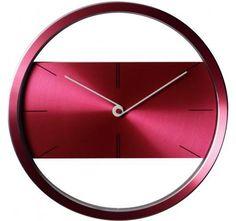 Horloge design Rouge - Large choix de produits à découvrir