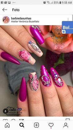 Lipstick, Nails, Makeup, Beauty, Work Nails, Make Up, Finger Nails, Lipsticks, Ongles