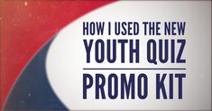 How to use the Youth Quiz promo kit to recruit adults and students into Teen Bible Quizzing Bible Quiz, Employee Morale, Go To High School, Memory Verse, Write To Me, Love The Lord, Social Media Graphics, Quizzes, Read More