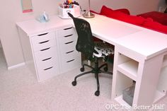Cheap Ikea Craft Desk - OPC The Better Half