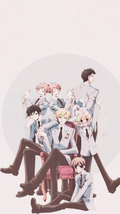 Tamaki, Haruhi, Kyouya, Hikaru, Kaoru, Honey, Mori and Usa-chan ❤️ OHSHC