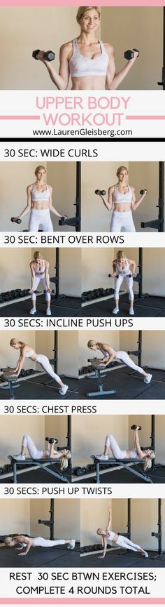 UPPER BODY CIRCUIT WORKOUT | Posted By: CustomWeightLossProgram.com