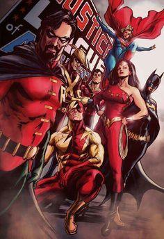 "Alex Ross ""Old Teen Titans"""