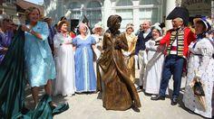 Jane Austen celebrated with first statue in hometown - CNN.com