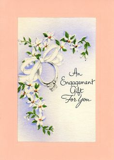 An Engagement Gift for You