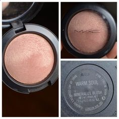 Mac Warm Soul Blush- PER JH ONE OF TWO MAC blushes that are a must