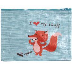 BlueQ Cosmetic Pouch: I Love My Stuff