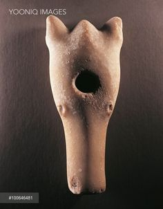 Sweden, Neolithic, 2000 b.C. - Bear's head shaped stone club, from Ostergotland.
