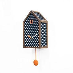 Acquista l'Orologio cucù Mr. Orange di Progetti, online a Prezzo Scontato! design Alberto Sala. Un cucù da parete dalla forma classica, già conosciuta e ap…