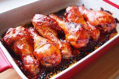 Vajpuha, BBQ-szószban sült csirkecomb: alig kell hozzá valami - Receptek   Sóbors Naan, Chicken Wings, Bbq, Food, Barbecue, Barrel Smoker, Essen, Meals, Yemek