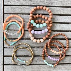 Letter Bead Bracelets, Letter Beads, Initial Bracelet, Name Bracelet, Gemstone Bracelets, Love Bracelets, Bracelet Sizes, Bracelet Making, Jewelry Making