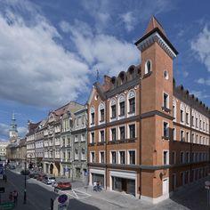 Palazzo Rosso at Wrocławska street in Poznań