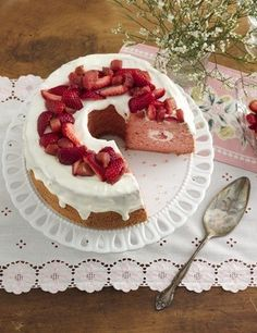 Strawberry and rhubarb is a classic springtime combo, and they pair beautifully in this elegant chiffon cake. If you're short on time, feel free to make the strawberry-rhubarb mixture up to two days ahead of time. Store it covered in the fridge until you're ready to use. If your garden is overflowing and you want to use fresh rhubarb, check out the Expert Tips section for directions on preparing it!