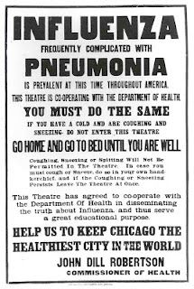 Looking back at the 1918 flu pandemic -- at least 675,000 people were killed