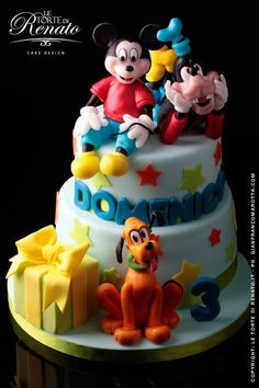 Disney on Pinterest | Donald Duck, Mickey Mouse and Fondant