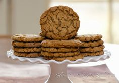 Gluten-free Molasses Sugar Cookies
