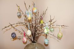Easter egg tree! German tradition :)