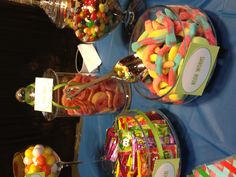 Candy buffet Skylander themed party