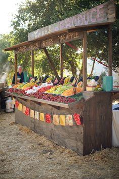 Farmer's Market Wedding at Parker Ranch - Entertain | Fun DIY Party Craft Ideas