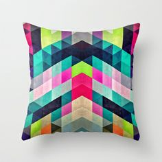 Cyrvynne xyx Throw Pillow by Spires - $20.00 http://society6.com/