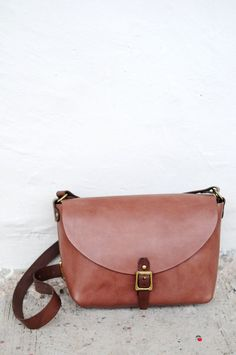 Hand Stitched Leather Shoulder Bag/ Carry On by ArtemisLeatherware