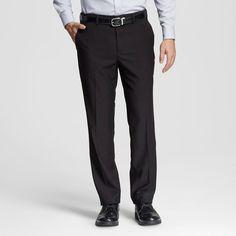 Men's Classic Fit Suit Pant Black 40x32 - Merona